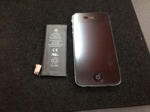 iphone4 電池交換
