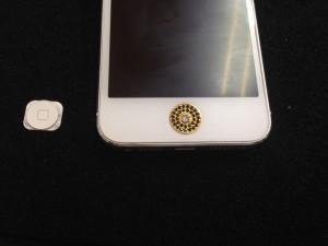 iphone5 カスタマイズボタン
