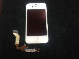 iphone4s ドックコネクタ交換